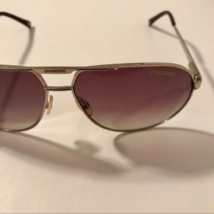 CARRERA Gold Aviator Sunglasses